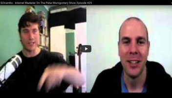 James Schramko Interview - Internet Marketer, Episode #25 On The Peter Montgomery Show