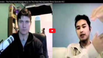 Poy TB Interview - The Facebook Fanpage Ninja, Episode #22 On The Peter Montgomery Show