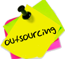Outsourcing, cruel in times of unemployment?