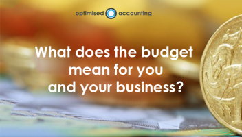 Your 2 minute guide to the tax and super changes that affect you and your business.