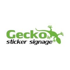 Gecko Sticker SignageLandsborough, QLD 4550