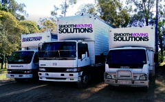 Smooth moving solutions