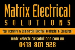Matrix Electrical SolutionsClovelly Park, SA 5042