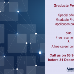 Special offer to those who are want to apply for Graduate Programs in early 2016