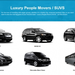 Luxury People Movers / SUVS
