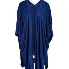 Zannie Wrap Dress - Women's Jersey wrap dress with cap sleeves and side gathers : Katie Perry