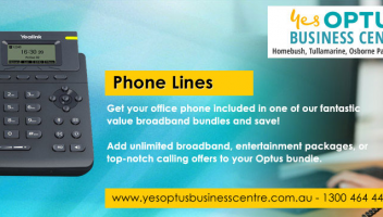 Optus Phone Line, Optus Fixed Phone Lines, Fixed Office Phone Lines