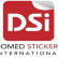 Domed stickers international australia