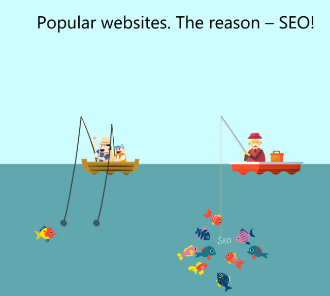 Popular website attracts more users thanks to SEO