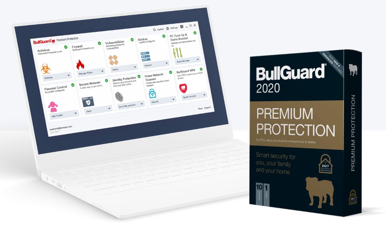 60% off BullGuard Premium Protection