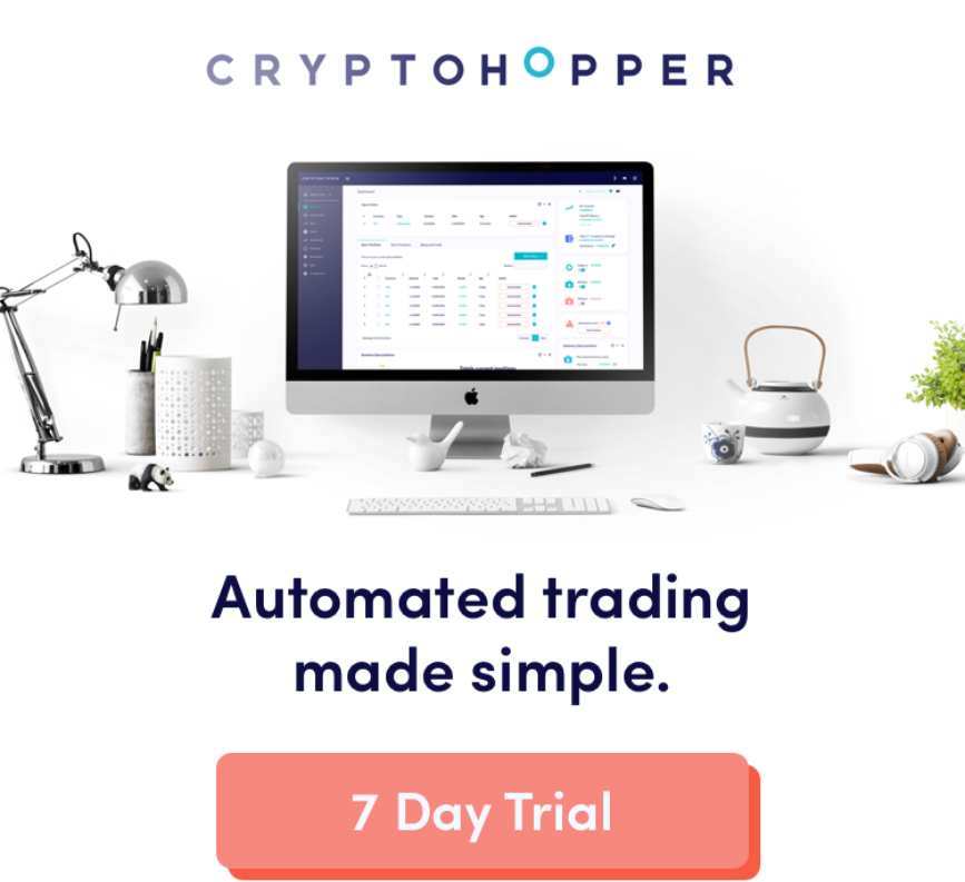 Trade cryptocurrencies on autopilot from $19/month