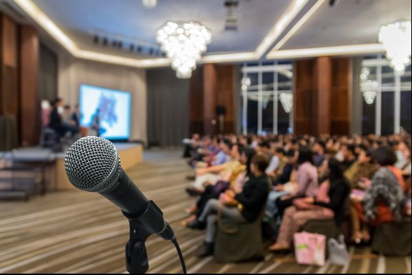 Speaking events