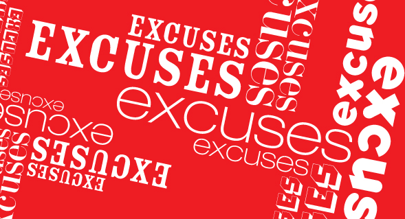 10 most common excuses heard from end users